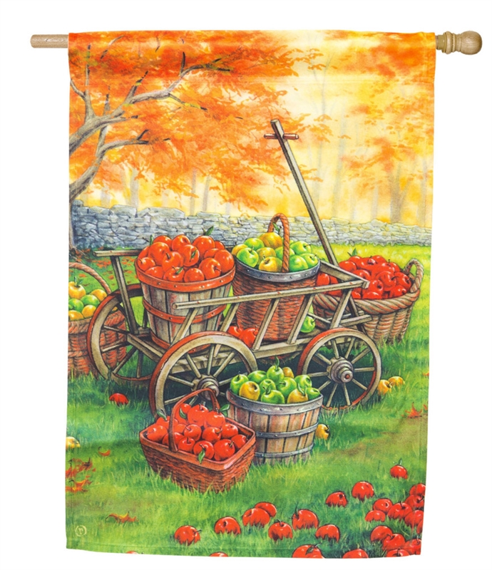 Apple Harvest House Flag