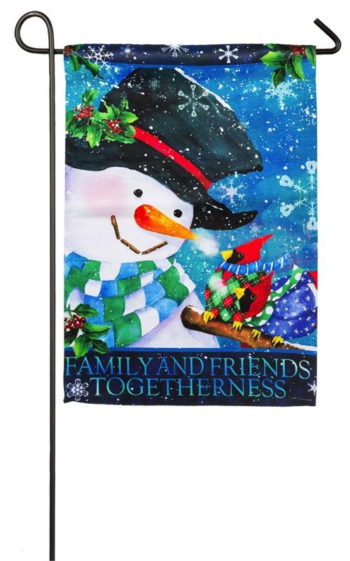 Winter Garden Flags Part - 40: Garden Flag - Warm Wishes Sweater