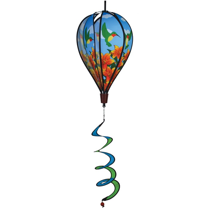 "17"" Hummingbird Lily Hot Air Balloon"