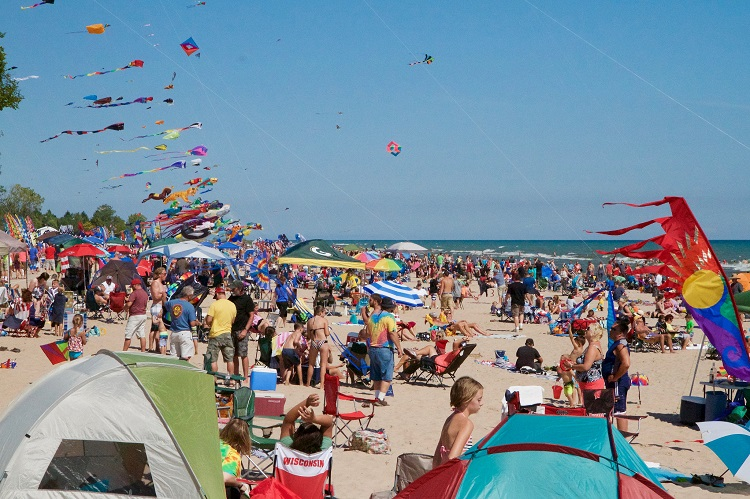 2019 Kites Over Lake Michigan