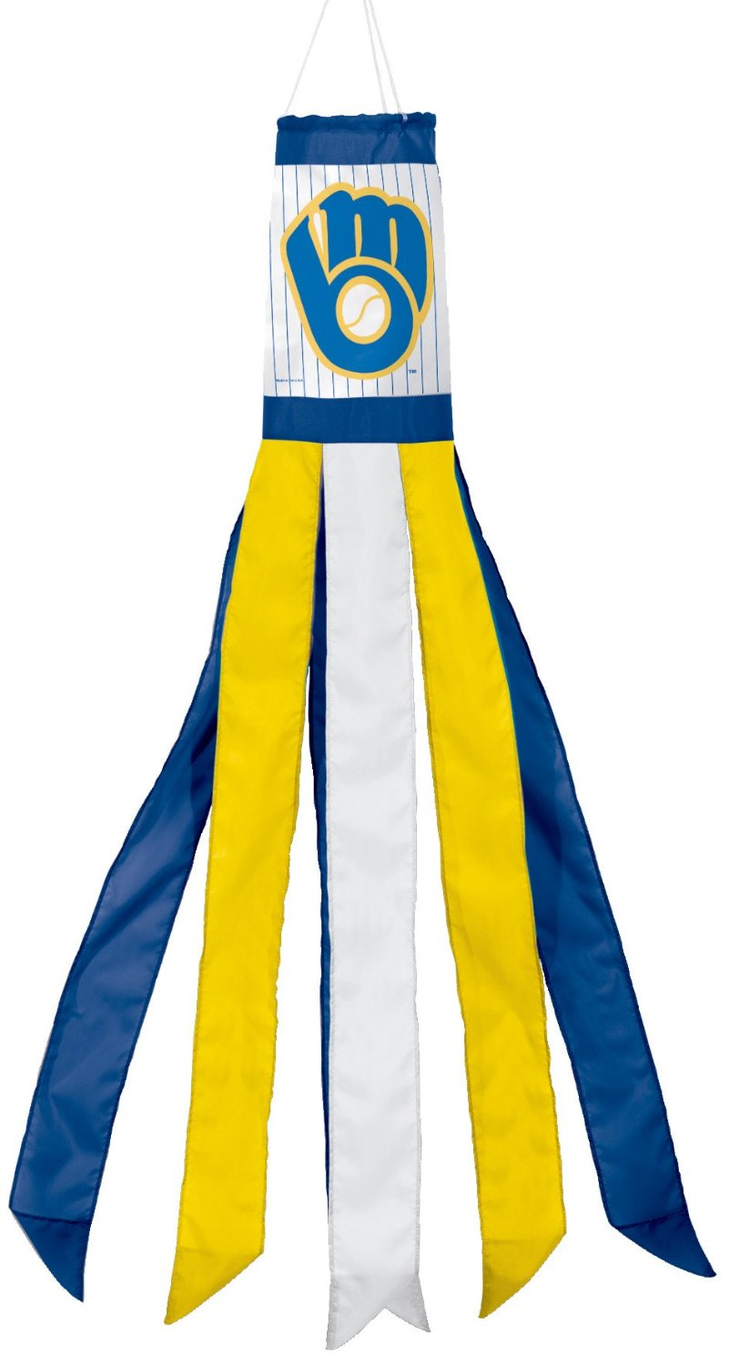 "57"" Milwaukee Brewers Retro Windsock"