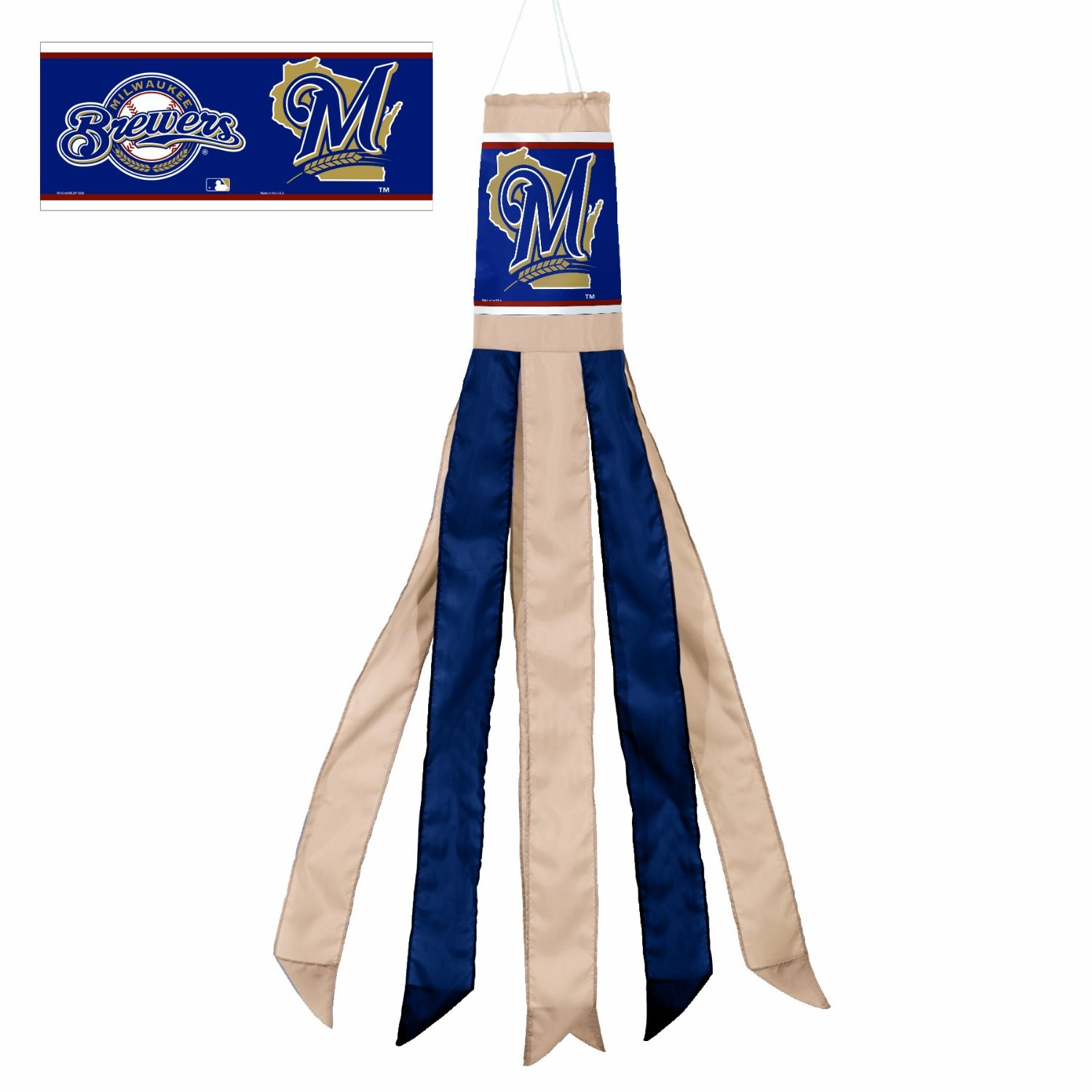 "57"" Milwaukee Brewers Windsock"