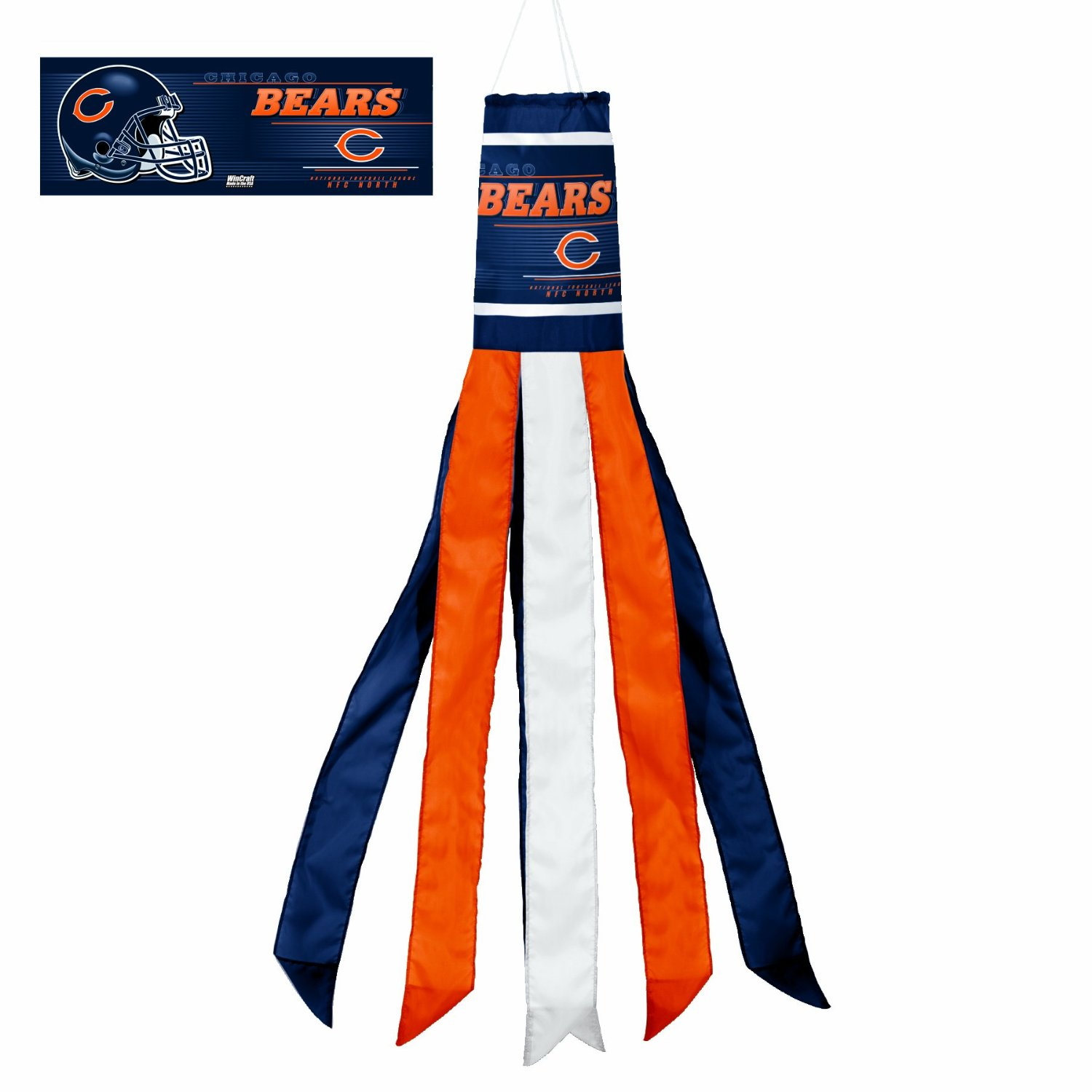 "57"" Chicago Bears Windsock"