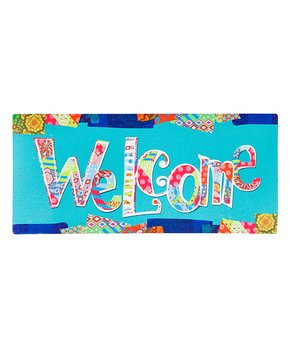 Switch Mat - A Colorful Welcome