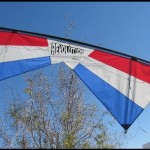 Revolution EXP Red/White/Blue Stunt Kite