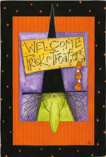 Halloween - Witchy Welcome