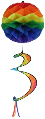 Rainbow Fiesta Party Ball