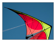 Nexus Stunt Kite-Yellow