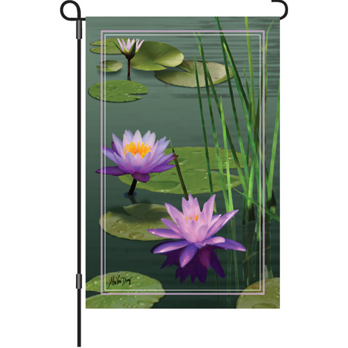 Aquatic Gardens Garden Flag