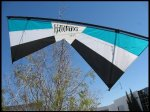 Revolution EXP Blue Stunt Kite