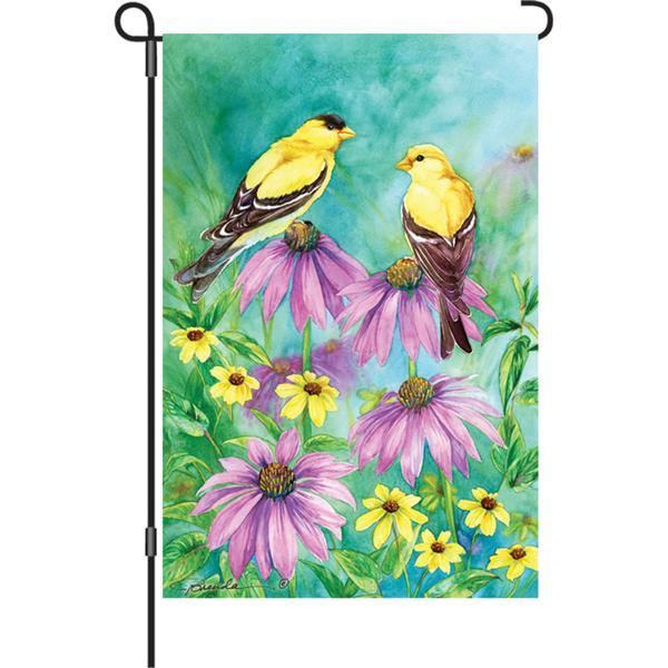 Summer Goldfinches