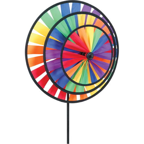 Triple Pinwheel - Rainbow