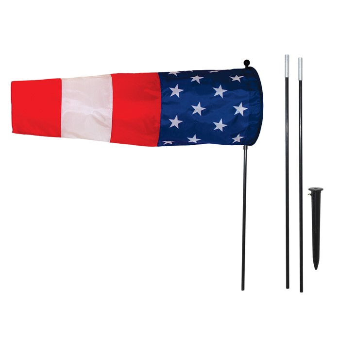 Directional Windsock - Stars And Stripes