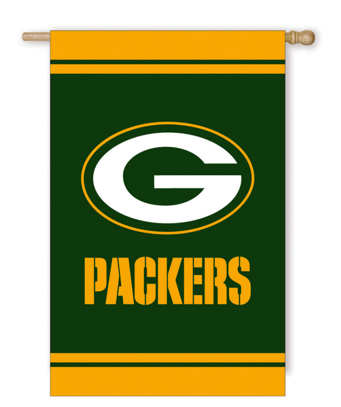 Green Bay Packers Fiber Optic Garden Flag
