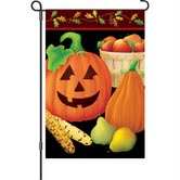 Autumn Halloween Garden Flag