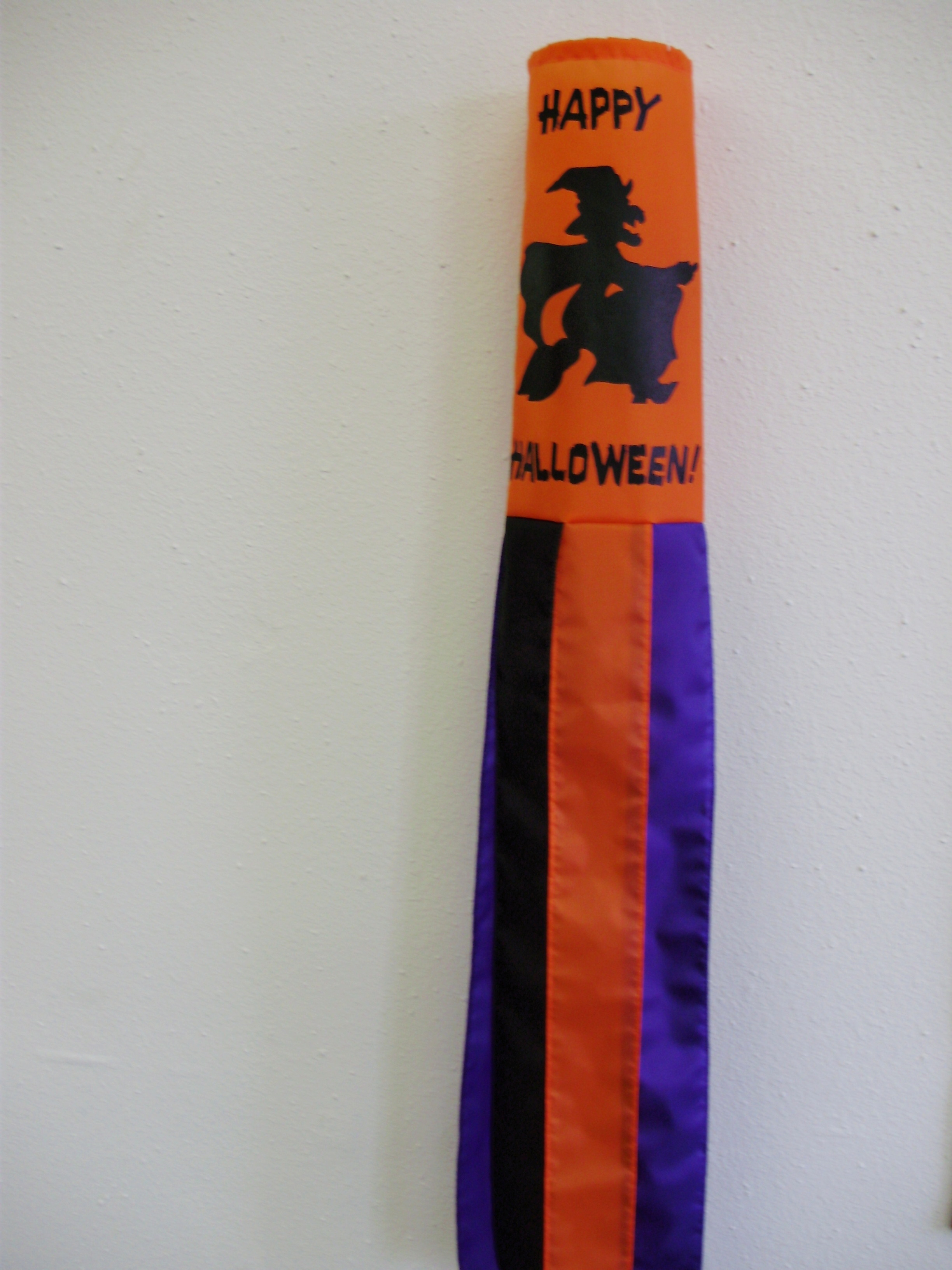 Halloween Witch Windsock
