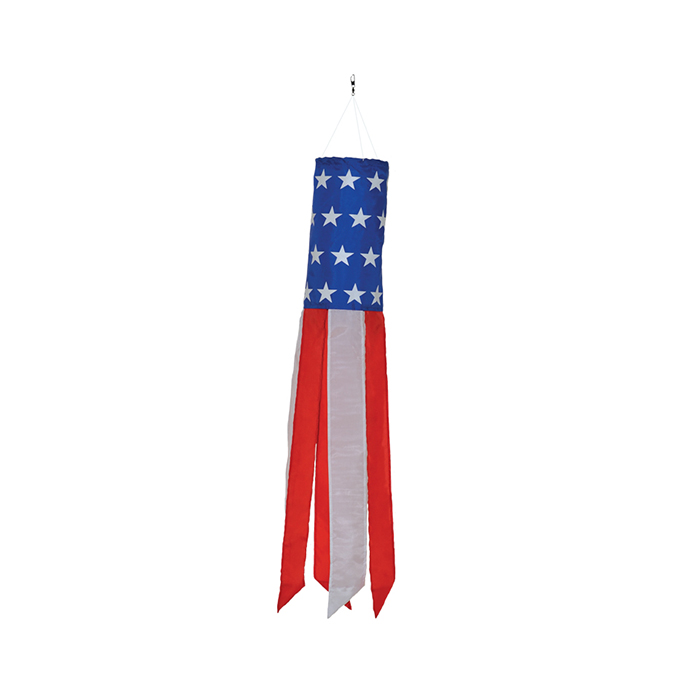 "24"" Stars and Stripes Windsock"