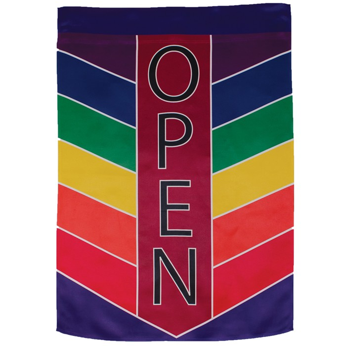 Open Chevron House Banner