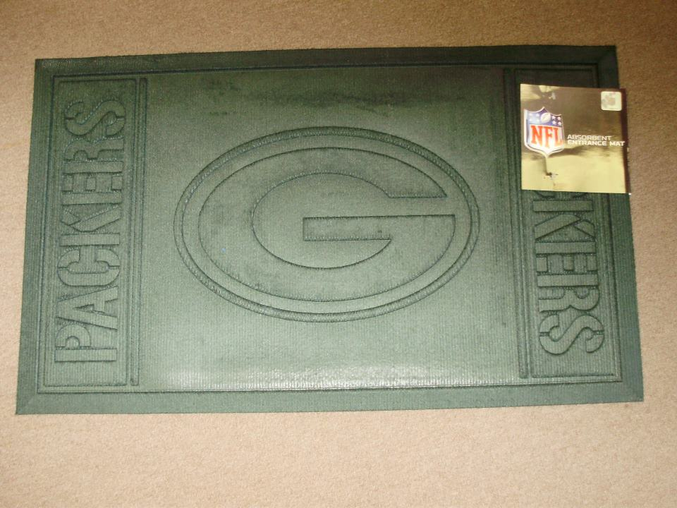 Green Bay Packers Entrance Mat