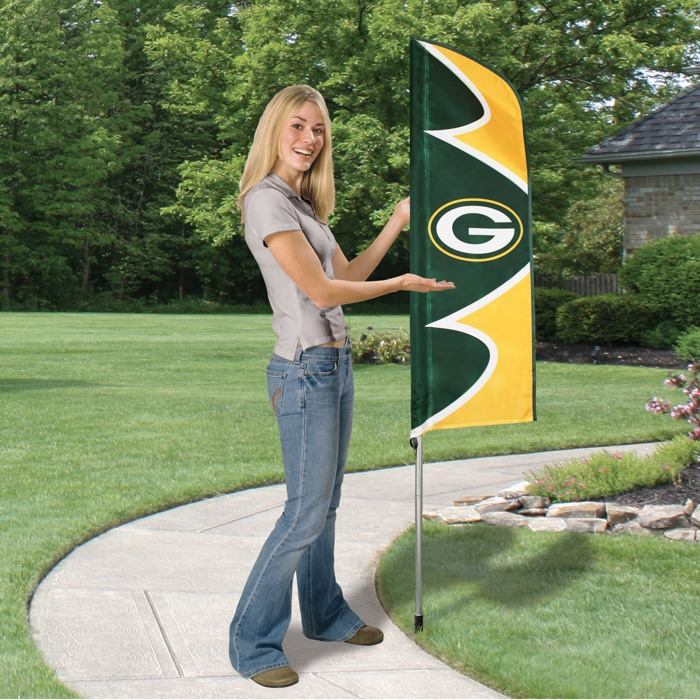 Packers Swooper Flag