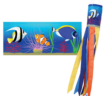Reef Fishes Windsock