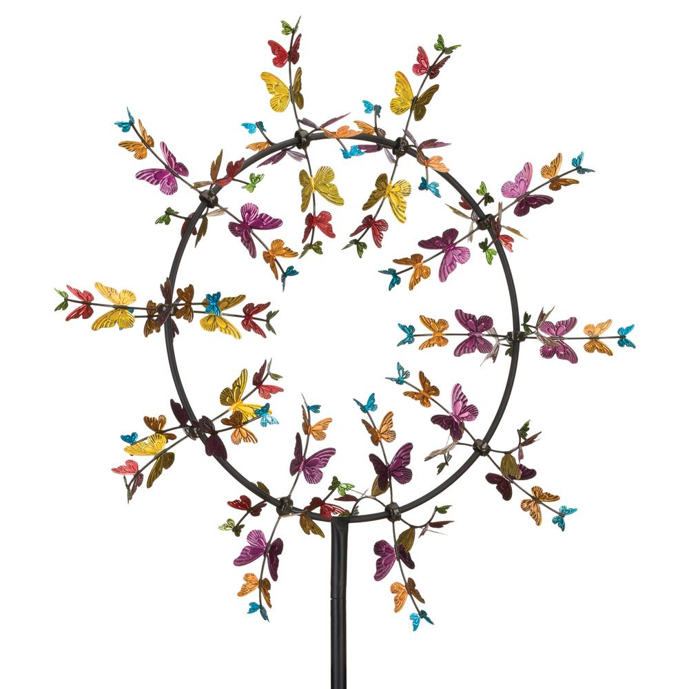"32"" Vortex Kinetic Stake - Butterflies"
