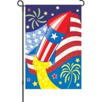 4th of July Celebration Garden Flag