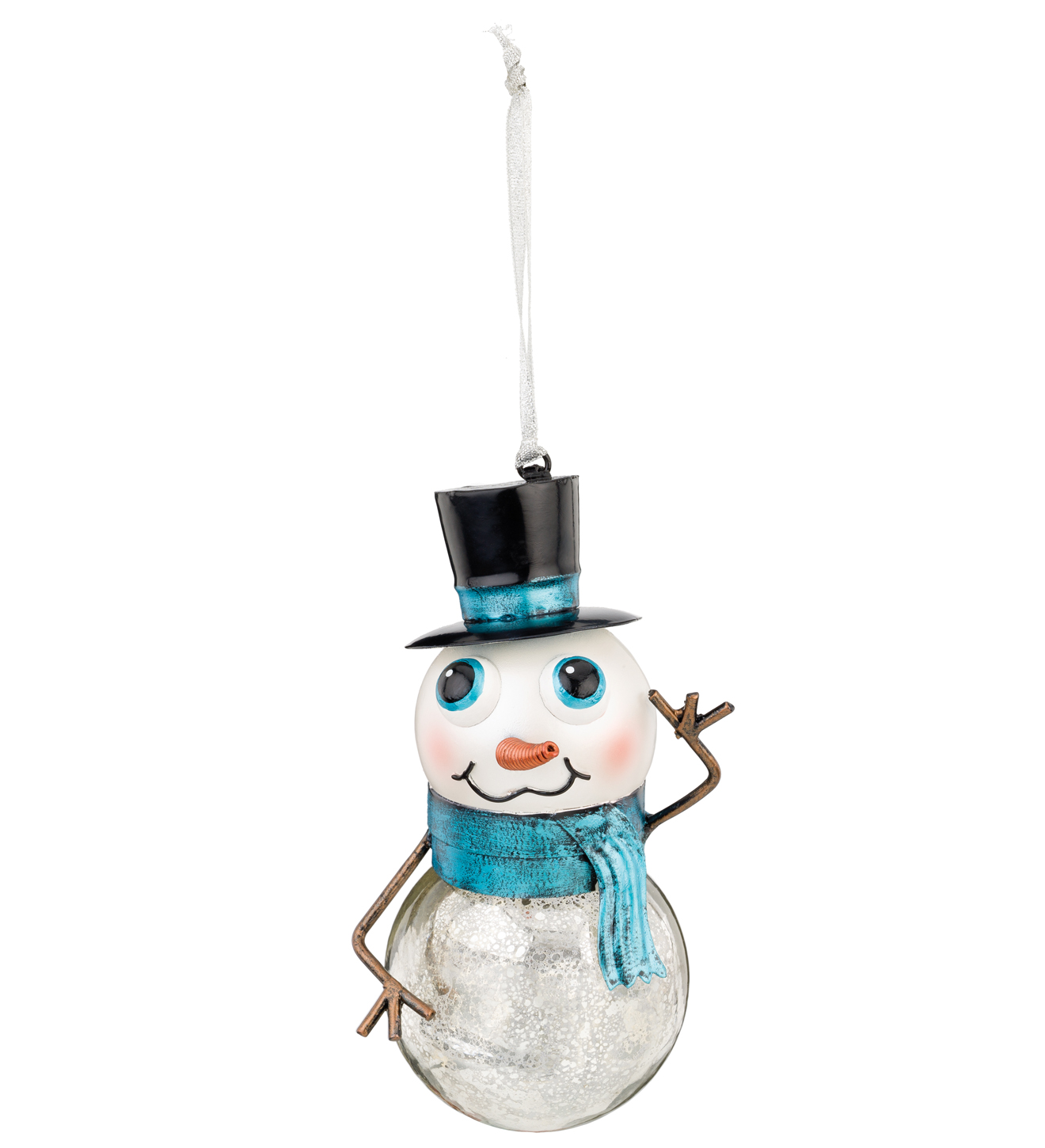 Mercury Ornament - Snowman