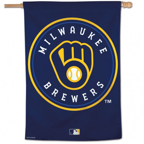 Milwaukee Brewers Vertical Flag