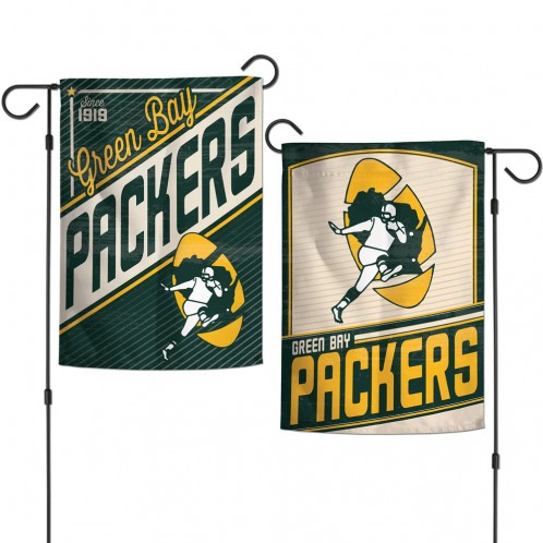 Green Bay Packers Classic/Retro Garden Flag