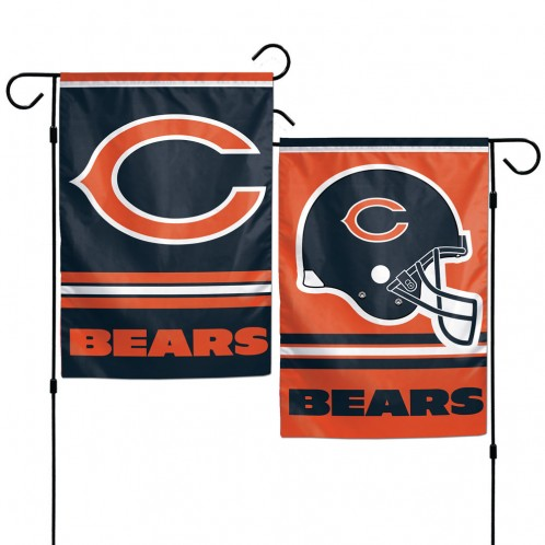 Chicago Bears Garden Flags 2-Sided
