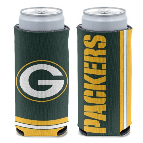 Packers Slim Can Cooler
