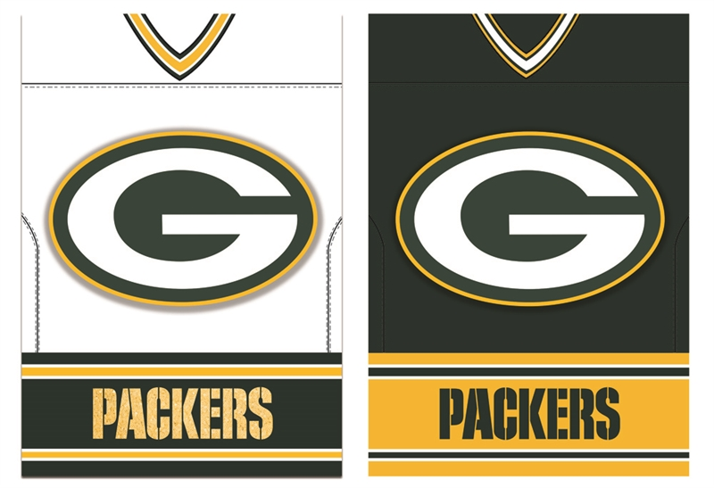 Green Bay Packers Jersey House Flag