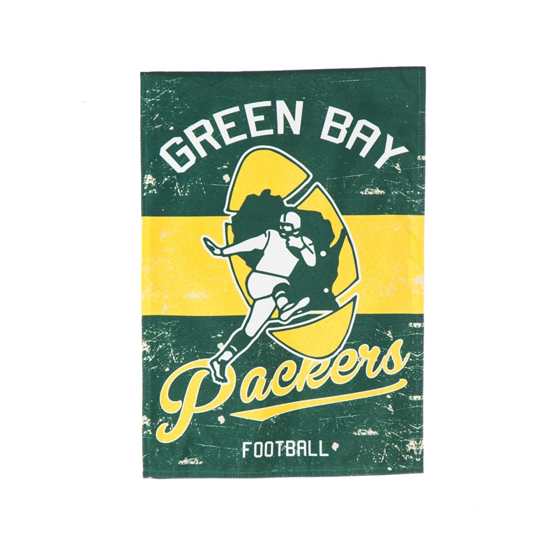 Green Bay Packers Garden Flag - Retro