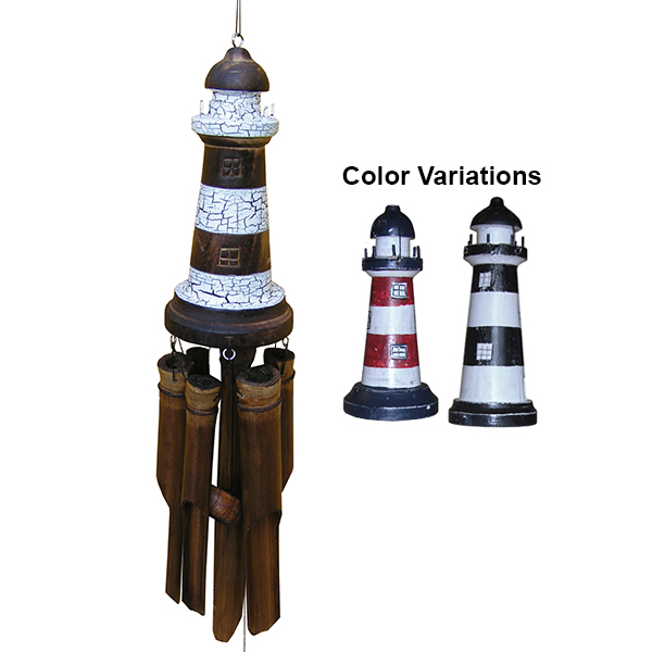 Large Lighthouse Bamboo Chime