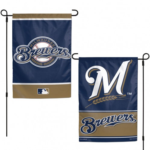 Milwaukee Brewers Garden Flags 2-Sided