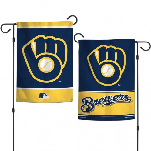 Brewers 2-Sided Garden Flag