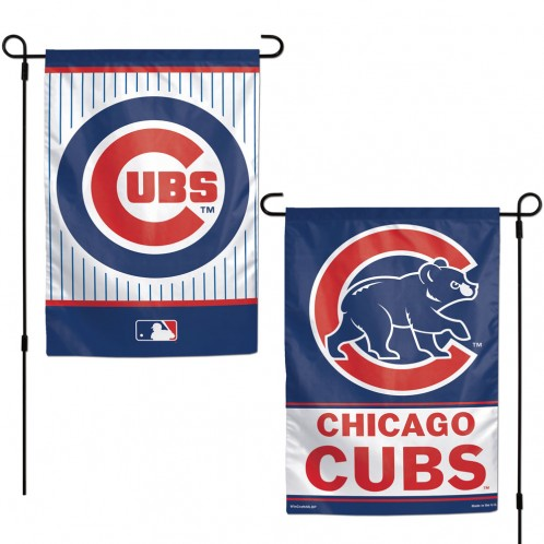 Chicago Cubs 2 Sided Flag