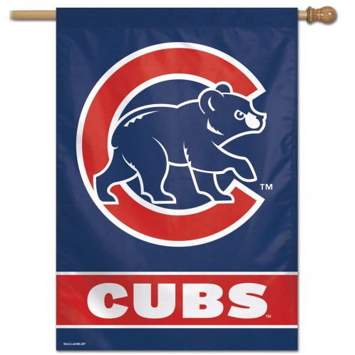 Chicago Cubs Vertical Flag