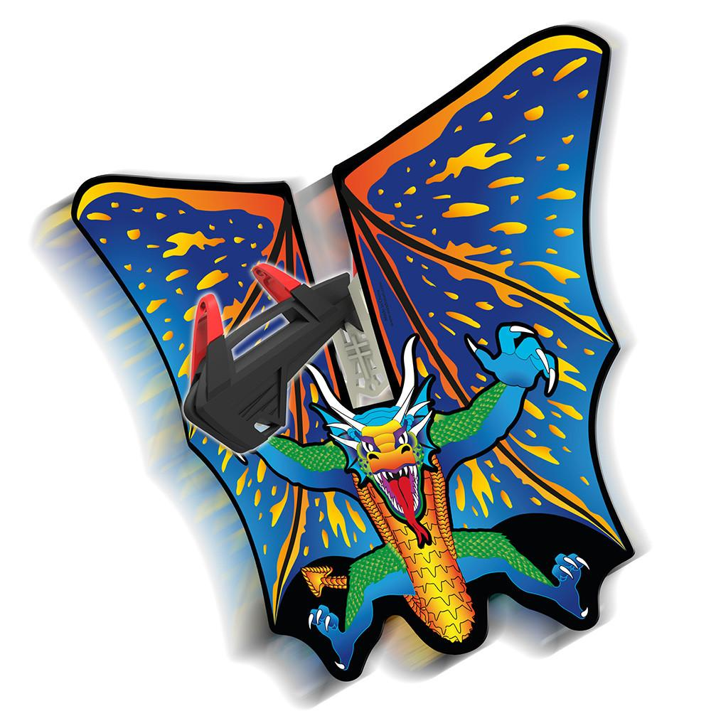 SkyShuttle Kite Line Accessory - Dragon