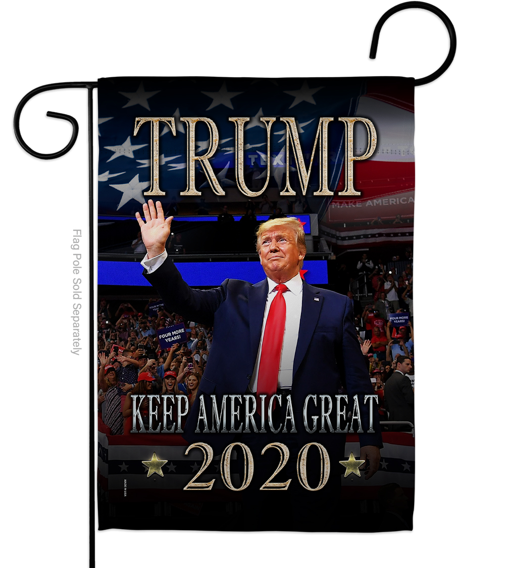 Garden Flag - Trump Keep America Great