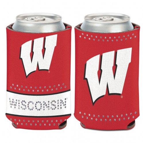 Badger Bling Can Cooler