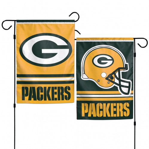 Green Bay Packers Garden Flag - 2 Sided Logo