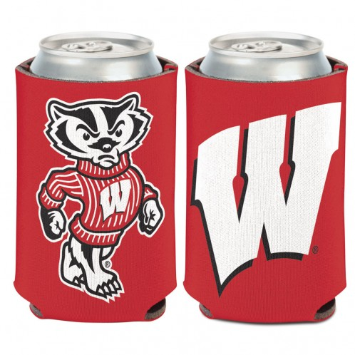 Bucky Badger Can Cooler