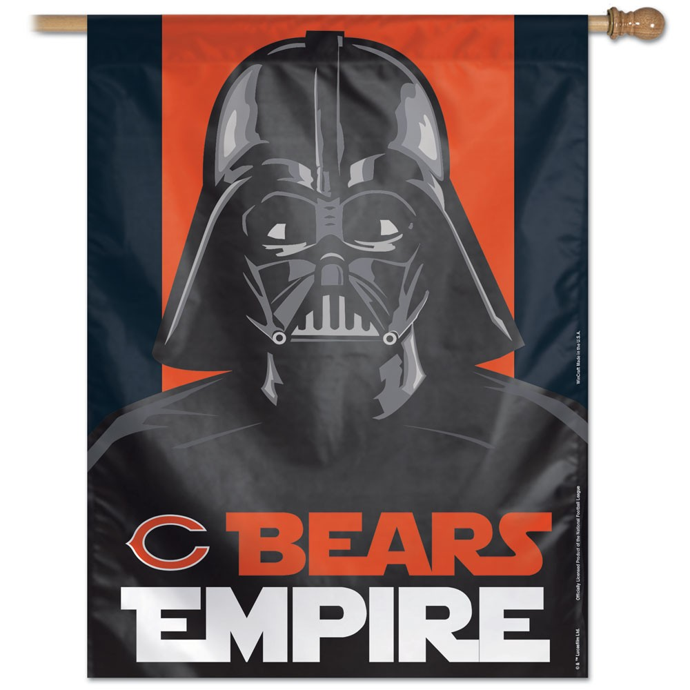 Chicago Bears Empire House Flag