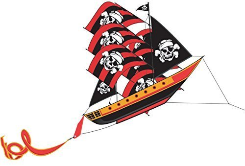 Pirate Ship 3-D Nylon Kite
