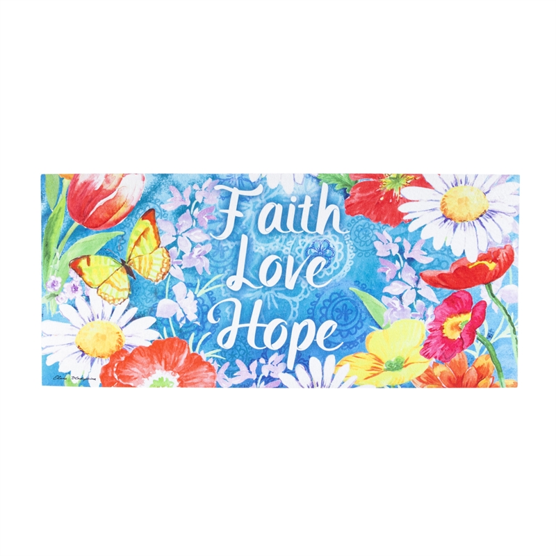 Switch Mat - Faith Love Hope
