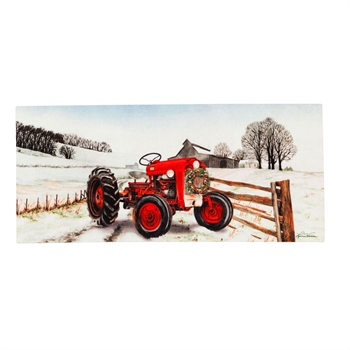 Switch Mat - Winter Red Tractor