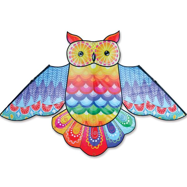 "70"" Rainbow Owl Kite"