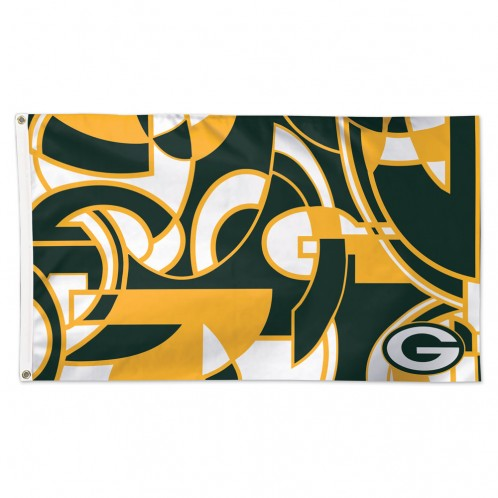 Green Bay Packers 3' X 5' NFLxFIT Deluxe Flag